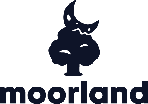 Moorland Games logo with text